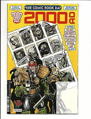 2000 AD Free Comic Book Day Prog 2017, NM NEW (Bagged & Boarded)
