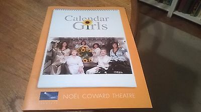 Calendar Girls Theatre Programme