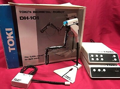 "VINTAGE TOKI Biometal Robot Arm DH-101 ,the ""Little Camel"" For Light Work"