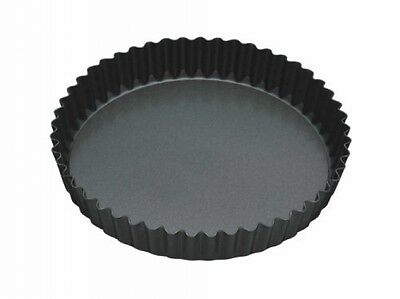Master Class Fluted Flan Tin/Quiche Pan With Loose Base - 23 Cm (9 Inch)