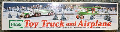NEW Hess 2002 Toy Truck and Airplane New in Box
