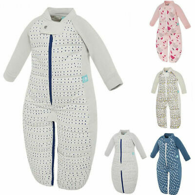 ErgoPouch Organic Infant Baby Sleep Suit Bag 2-12m Winter 2.5 TOG Sleeping Wrap