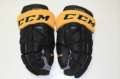 """2016 Nhl All Star Game Game Issued Ccm Hg12 Mens Hockey Gloves Size 15"""""""