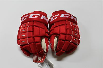 Brand New Pro Return Game Issued Ccm Hg4Rrp Mens Hockey Gloves Size 14""
