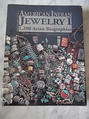 AMERICAN INDIAN JEWELRY by Gregory Schaaf  1200 Artist Biographies