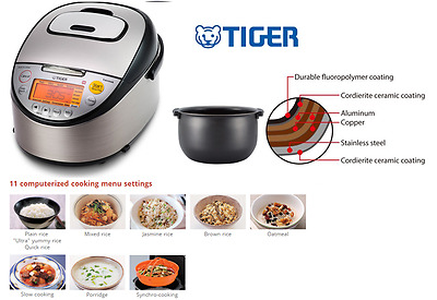 Tiger 5.5 Cup IH Rice Cooker JKT-S10A