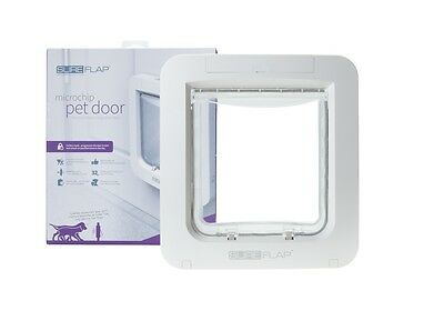 SureFlap Microchip LARGE Pet Door (lg cat, small dog) Opening 178mm(W) x170mm(H)