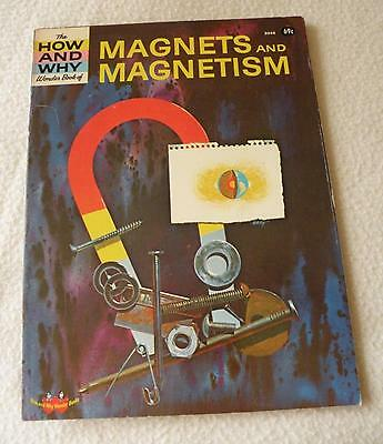 The How and Why Wonder Book of Magnets and Magnetism - # 5046 - Vintage 1971  GC