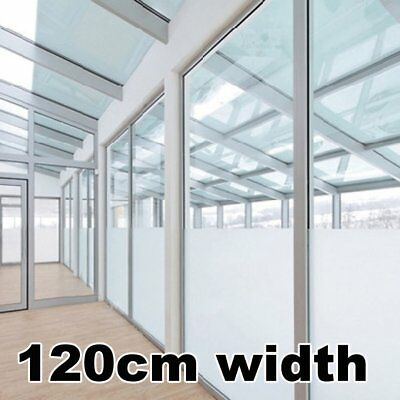 Frosted Window Film Roll Privacy Glass Vinyl Tint Self Adhesive Width 120CM