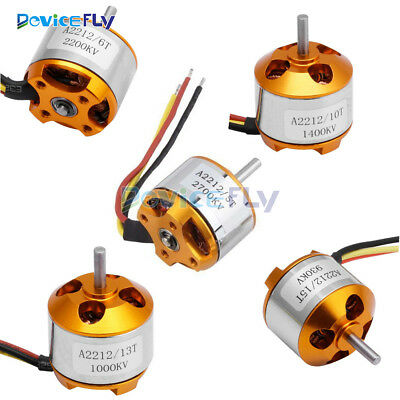 A2212 930/1000/1400/2200/2700KV Brushless Drone Outrunner Motor For Aircraft