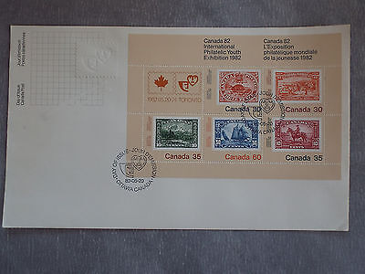 First Day of Issue CANADA Ottawa 1982 : Exposition philatélique mondiale