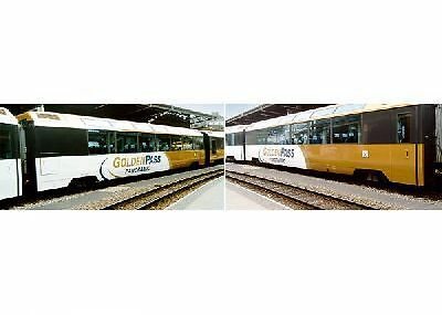 LGB 39666 | Wagen-Set 2-teilig  Golden Pass MOB Spur 2m