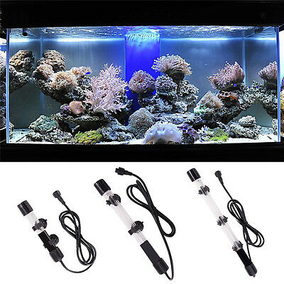 6W 10W 15W Aquarium Fish Tank Submersible UVC Germicidal Lamp Sterilizer Lights