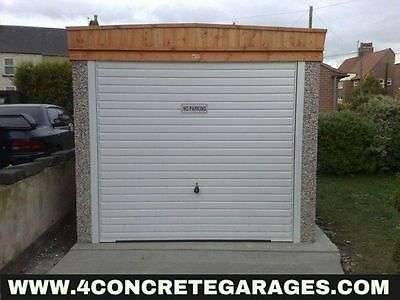 Pent Concrete Garage 8ft6in x 22ft3in installed *conditions apply £2,000