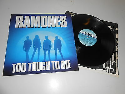 Ramones - Too Tough To Die, rare PUNK LP, ARCHIVCOPY & unplayed FF