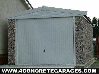 Apex Concrete Garage 8ft6in x 22ft3in installed *conditions apply £2,350