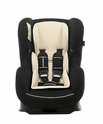 Nania Cosmo SP 0-4 YR Rear & Forward Facing Recliner Car Seat BLACK RRP £90