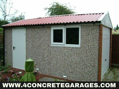 Deluxe Spar Apex Garage 8ft6in x 20ft3in installed *conditions apply £3,098