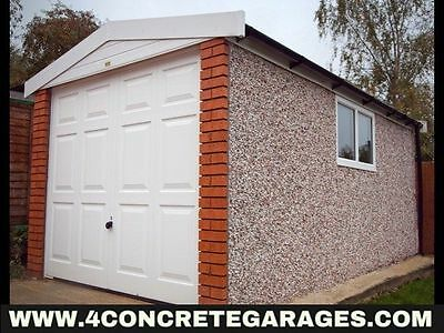 Deluxe Spar Apex Garage 8ft6in x 24ft3in installed *conditions apply £3,397