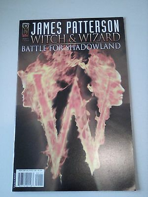 James Patterson Witch and Wizard Battle for Shadowland Issue 1 Cover B
