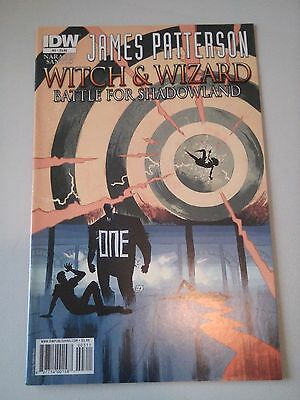 James Patterson Witch and Wizard Battle for Shadowland Issue 3