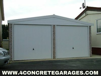 Apex Double Garage 16ft6in x 20ft3in installed *conditions apply £4,100