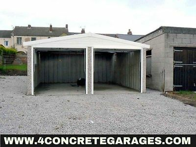 Apex Double Garage 16ft6in x 24ft3in installed *conditions apply £4,640