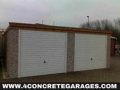 Pent Double Garage 16ft6in x 14ft3in installed *conditions apply £2,970