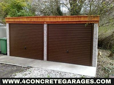 Pent Double Garage 16ft6in x 22ft3in installed *conditions apply £3,610