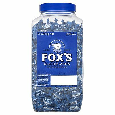 Fox's Glacier Mints Jar 2.34 kg