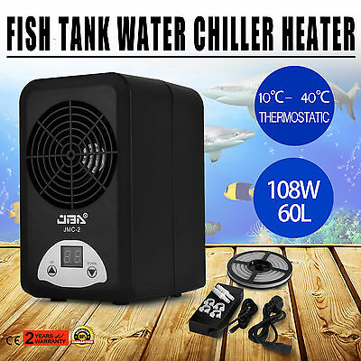108w Thermostatic Water Heater Chiller Fish Pond Quiet Energy-Saving ON SALE