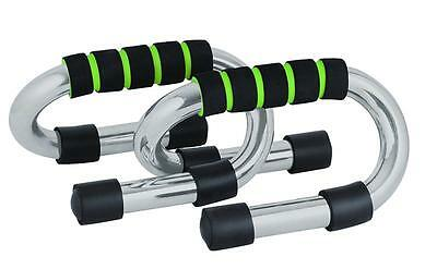 Phoenix Fitness RY934 Press Up Bars Single Tube Construction Exercise Equipment