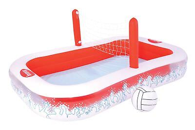 Bestway 54125 Planschbecken Inflate-A-Volley Volleyball Pool 253 x 168 x 97 cm
