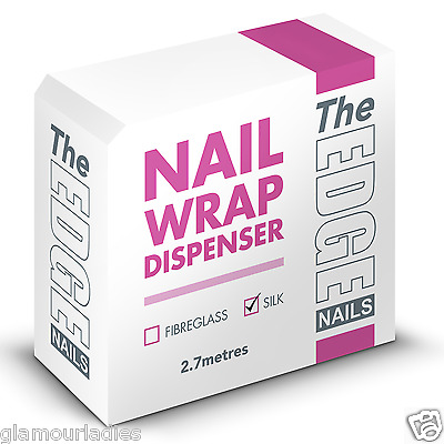 THE EDGE NAILS 2.7m Silk Nail Wrap Dispenser Box