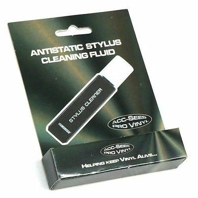 Acc-Sees Professional Anti-Static Stylus Cleaning Fluid And Brush - New / Sealed