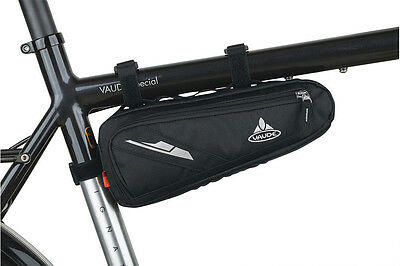 Vaude Cruiser Bag, Black Fits All Types of Bike Frames