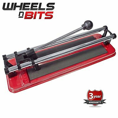 "12"" Inch HEAVY DUTY Professional Tile Cutter Flat Bed Manual Machine Floor Wall"