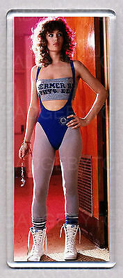 KELLY LEBROCK in WEIRD SCIENCE - LARGE 'WIDE' style FRIDGE MAGNET  - 80's HOT !