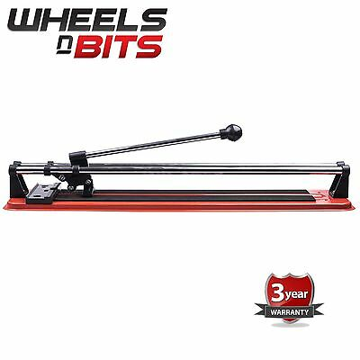"16""HEAVY DUTY Professional Tile Cutter Flat Bed Manual Machine Floor Wall Tiling"