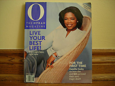 The Oprah Winfrey O magazine Premiere Issue, May/June 2000