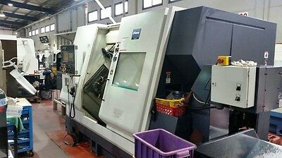 Miyano Model Abx-64Thy Twin Spindle Triple Turret Multi-Axis Cnc Precision Turni