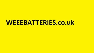 Waste Electronic and Electronic Equipment Domain  for sale WEEEBATTERIES.co.uk