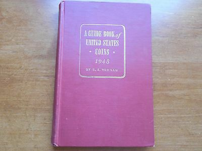 1948 A Guide Book of United States Coins [the red book] Nice