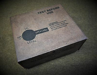 Reproduction wireless set no38 Battery.  WWII British
