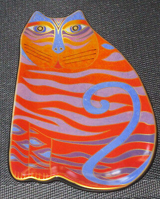 2007 Laurel Burch Cat Plate - Wine Things Sonoma Ca
