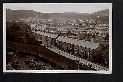 Caerau - General View - real photographic postcard