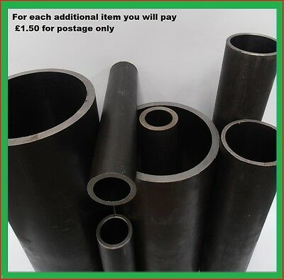 Mild Steel Tube Pipe  & round bar ,various lengths & sizes.