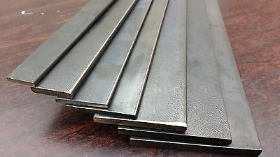 Mild Steel Flat Bar, 100mm to 1000mm lengths
