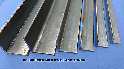 Mild Steel Angle Iron various sizes, 200mm to 1500mm,good quality.