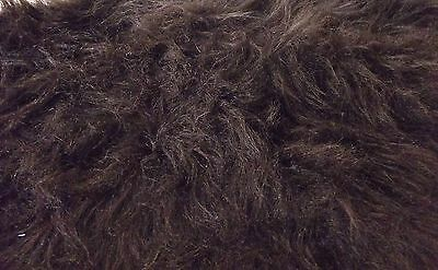 LONG Pile Fun Faux Fur Fabric Material - BRUNO